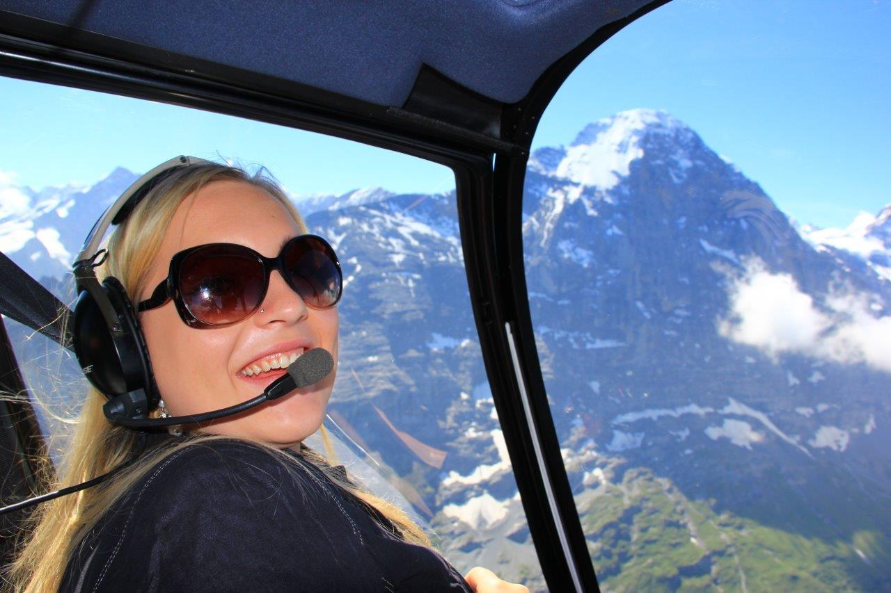 Hubschrauber Rundflug Linz Fluggast