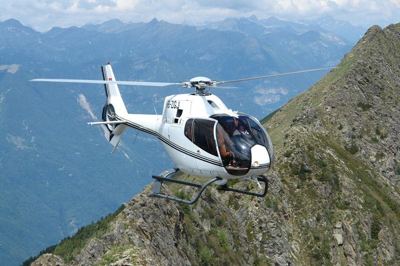 Helikopterrundflug Tessin