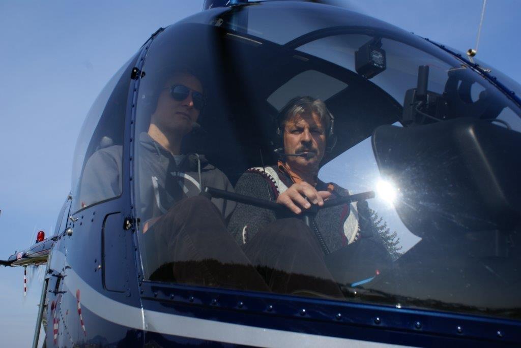 HHubschrauber selber fliegen Pilot 1 Tag