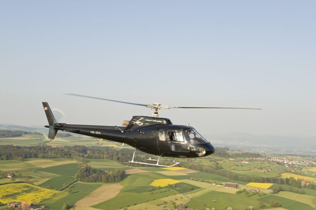 Hubschrauberflug Stockerau