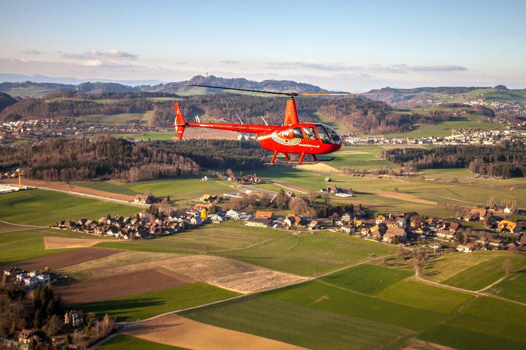 Rundflug Bern Robinson R44