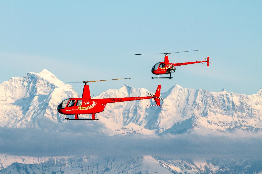 Helikopterflug Robinson R22/R44
