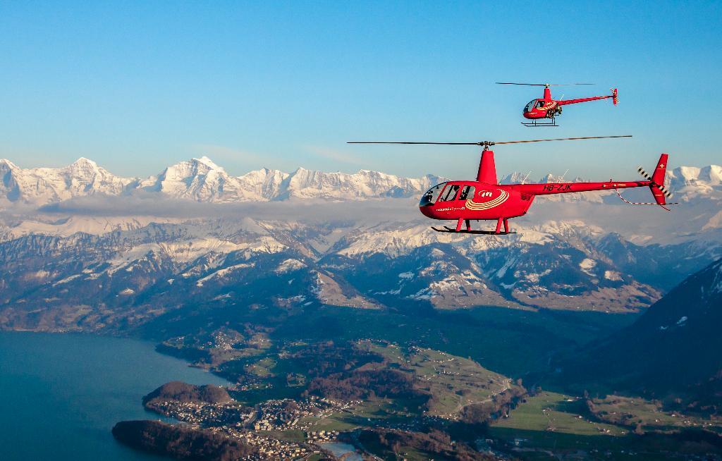 Robinson R22/R44 Jungfraujoch Rundflug