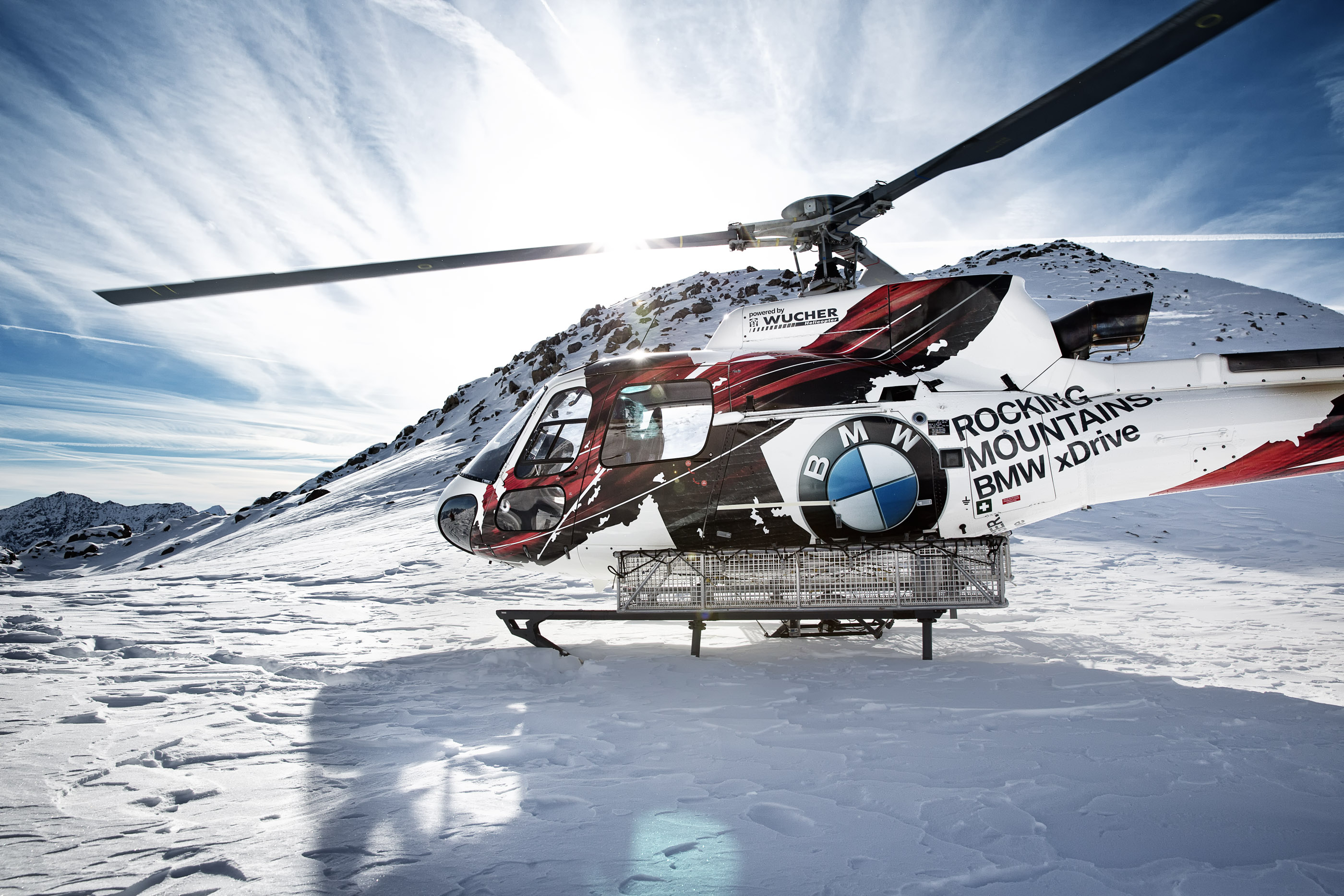 Hubschrauberflug ab Ludesch