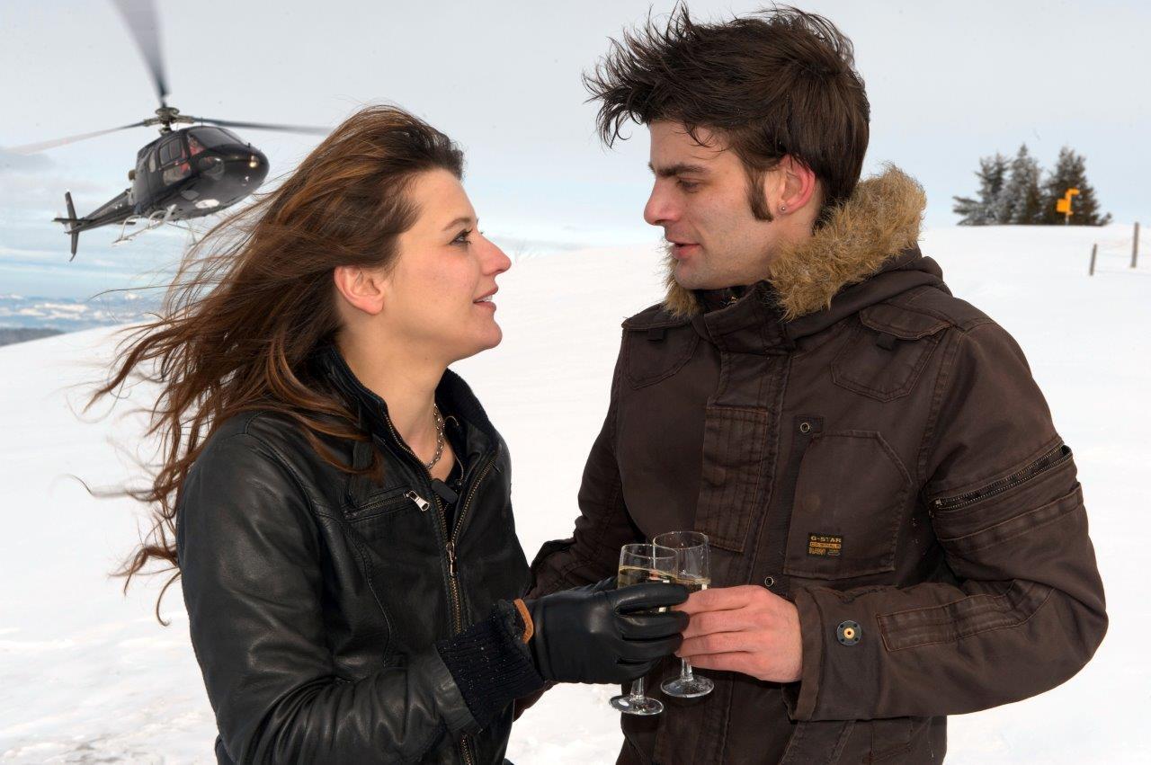 Heiratsantrag St. Moritz