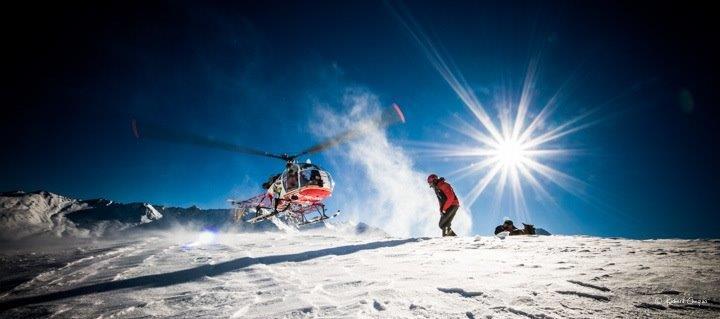 Gletscherflug mit Apéro
