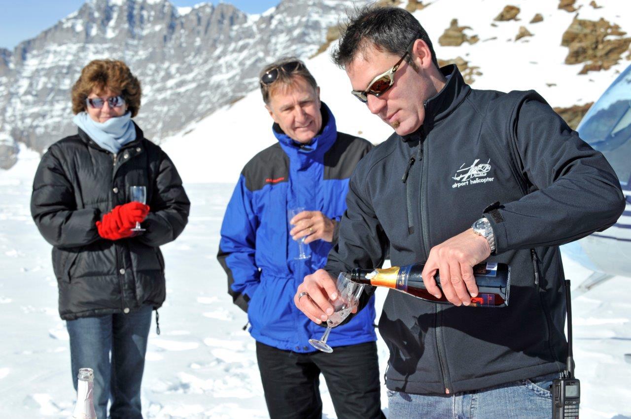 Apéro Gletscher Engadin
