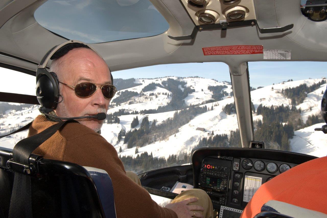 Gletscherflug Bern-Belp