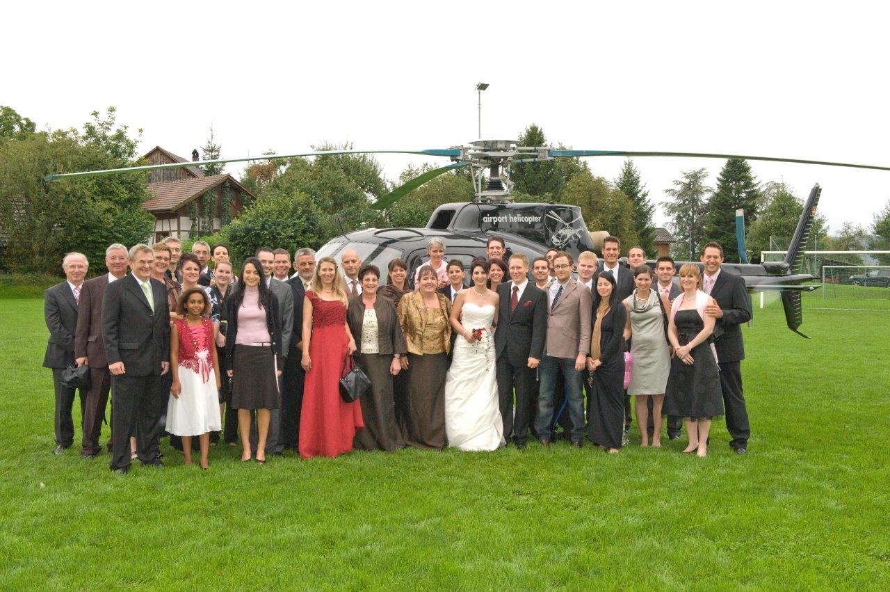 Hochzeitsgäste St. Moritz