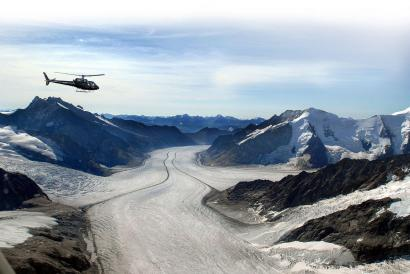 Gletscherflug Zürich