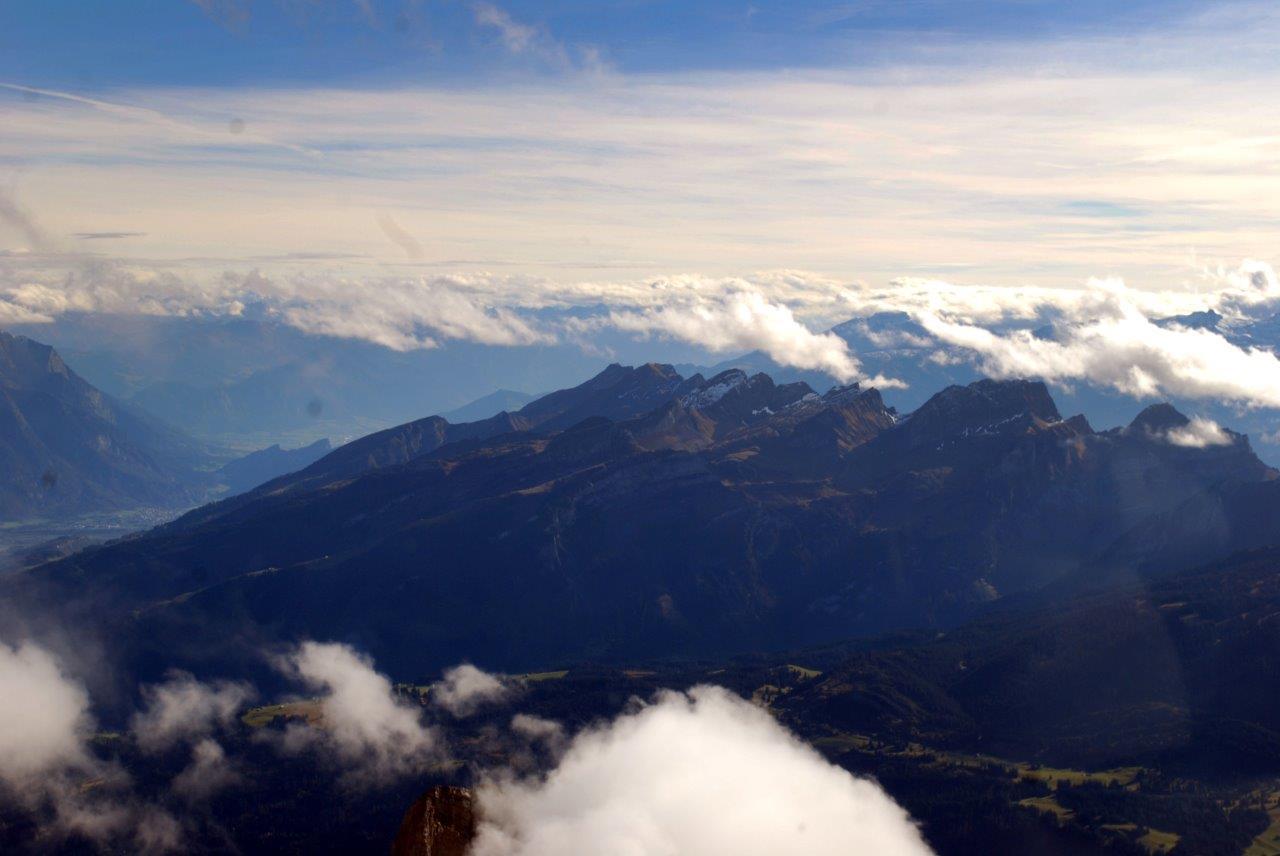Gletscherlandung Hüfifirn