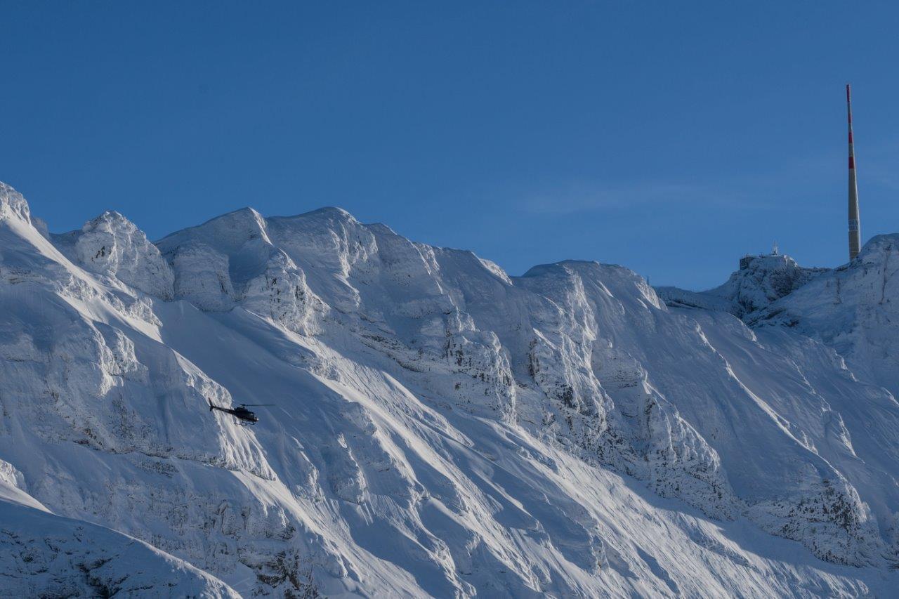 Gletscherflug St. Gallen