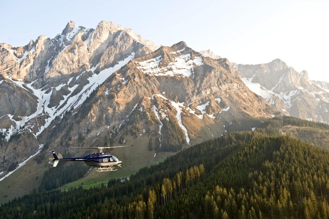 Alpenrundflug mit Jet Ranger
