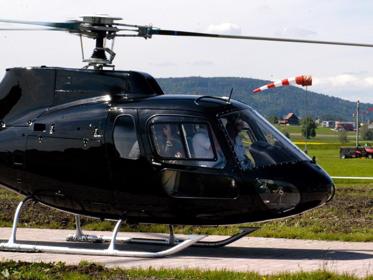 Hubschrauberflug München Ottobrunn