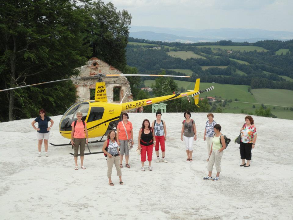 Hubschrauber Rundflug Kilb Rametzberg