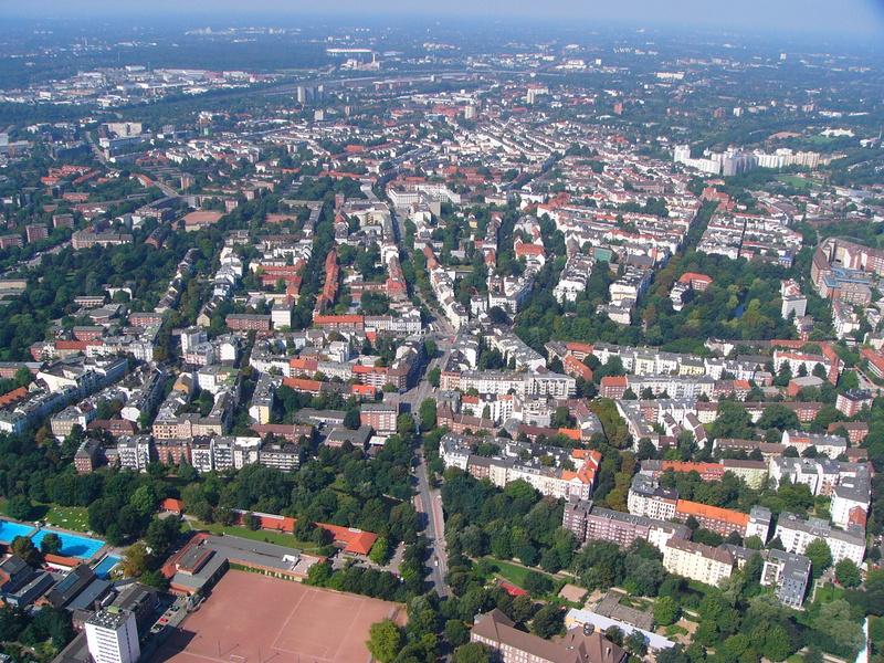 Hubschrauberflug Region Köln