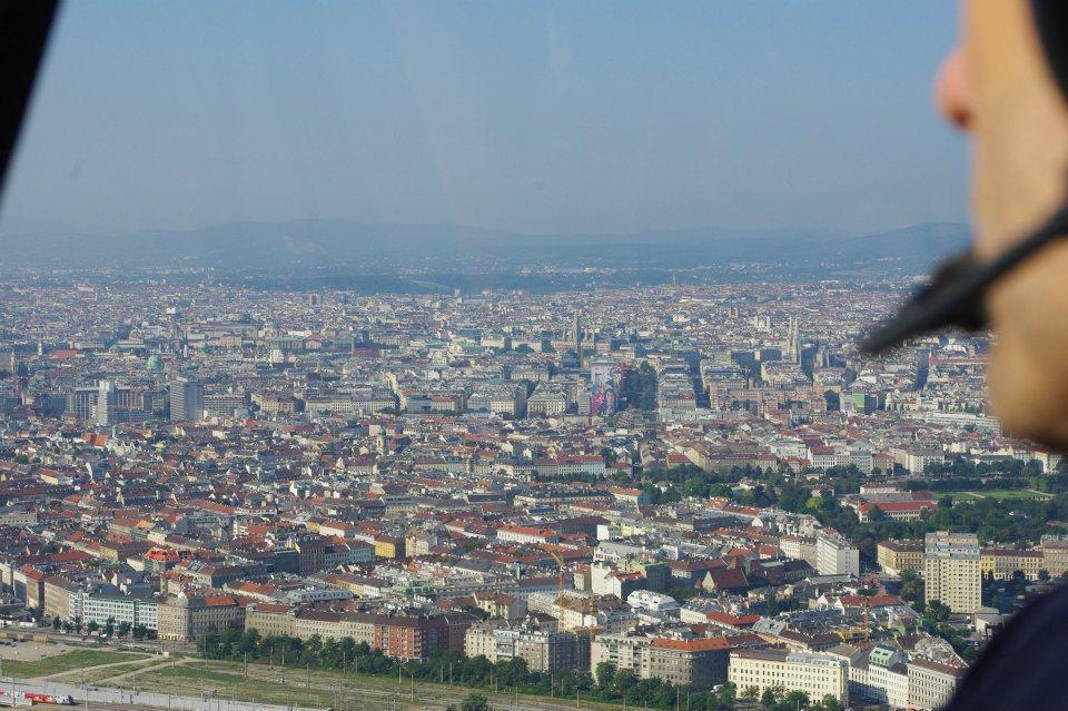 Wien Helikopterflug