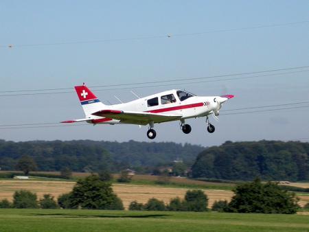 Flugzeugflug