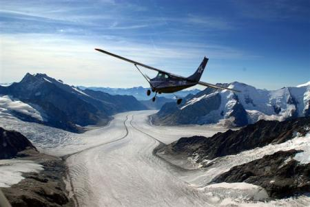 Flugzeugflug Matterhorn Beromünster