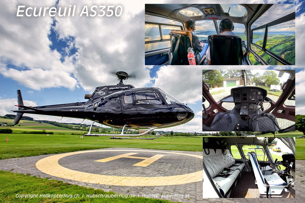 Helikopter Ecureuil AS350